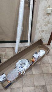 Отзыв готового набора натяжного потолка фото 10