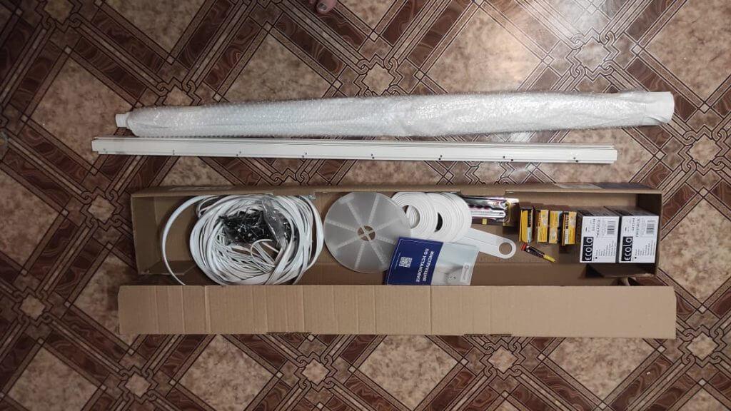 Отзыв готового набора натяжного потолка фото 11